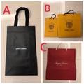 Ysl聖羅蘭slp/roger vivier/RV/Faure le page名牌紙袋精品時尚