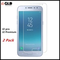 2x Samsung Galaxy J2 Pro 2018 Tempered Glass Non Full CoverClear