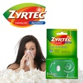 [ZYRTEC] Zyrtec 10 mg 3 tablets - Allergy and Cold Symptoms Relief / Shipping from USA