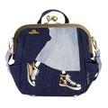[Mis Zapatos] B-6586 Long skirt Gamaguchi 3 Way backpack
