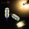 【PA LED】G4 10-30V 13晶 5050 SMD LED 暖白光 豆燈 豆泡