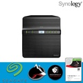 【 IronWolf 3TBx4 】Synology 群暉科技 DiskStation DS418j 4Bay NAS 網路儲存伺服器