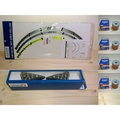 <大中華MOTO>GSX-R150 GSX-S150 小阿魯精品組 灰黃輪框貼+方向燈+機油濾心*4