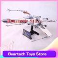 Lepin樂拼05039星球大戰系列 X翼紅五星際戰鬥機 拼裝積木兼容小顆粒儿童玩具飛機 兼容樂高10240