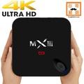 免費第四台電視盒 免越獄4K八核2GHz高效CPU雙頻WiFi 5G智慧電視盒MXIII 網路電視盒 安卓網路機上盒
