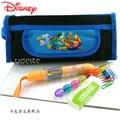 Disney迪士尼小熊維尼Winne the Pooh 筆袋化妝包-黑色