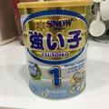 雪印金強子奶粉藍1