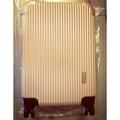 Rebacca abs直條古銅色行李箱 行理箱 登機箱 20吋 20寸 飛機輪