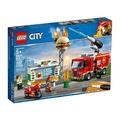 樂高積木LEGO《 LT60214 》2019年City Fire 城市系列 - 漢堡餐廳火災救援