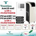 Trentios/Avolta Portable Aircon 10000/12000/14000 BTU / (Include Air Freshener/Dehumidifying)