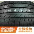 【宏勝輪胎】中古胎 落地胎 二手輪胎 型號:215 55 17 橫濱YOKOHAMA E70 8成 4條 含工9000元