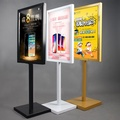 kt板展架展板支架海報架立式易拉寶雙面展示架架子制作廣告架立牌 〖korea時尚記〗 YDL