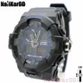 Exponi Watch (Tank) นาฬิกาข้อมือผู้ชาย-ผู้หญิงและเด็ก สายยาง ระบบดิจิตอลและเข็ม