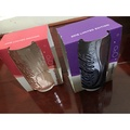 2016可口可樂玻璃杯 限量 全新 粉色+紫色 一套