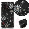 【YOURS】HTC、SHARP系列 彩鑽防摔手機殼-雪戀(S3/U12life/D12+/U11eyes/U11+)