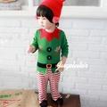 Augelute Baby 聖誕小精靈造型包腳連身衣 37161(聖誕服裝)