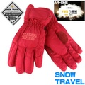 SNOW TRAVEL AR-ONE 紅/M英國防水套+白鵝羽絨防水保暖滑雪手套 輕井澤2016年滑雪紀念版 滑雪 騎車