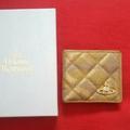 Vivienne Westwood  金色皮夾