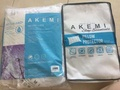 AKEMI brand 1 pcs pillow & 1 pcs bolster protector - all $12