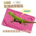 【睡眠達人irest】USB寵物保暖毯(三色隨機出貨)日本進口碳素發熱纖維,美國歐盟安全雙認證(1入)