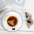 茗花有主放松茶 南非路易博士茶桂花玫瑰花瓣組合適合冬天的花茶
