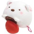 【角落生物北極熊大福】角落生物 北極熊 新年 草莓大福娃娃 日本正版 該該貝比日本精品 ☆