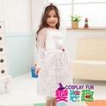 【變裝趣】造型變裝秀_公主系列造型服(白紗)