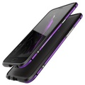 For OPPO R9s Plus Cover Case Luphie Slim Metal Phone Mixed Color Bumper Cases For OPPO R9s Plus Aluminum Bumper Frame Mobile Phone Protective Shell (Color:Purple) - intl