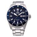 ORIENT 東方錶 RA-AA0009L《水鬼系列 200M潛水機械腕錶》44mm/星期日期/藍【第一鐘錶】