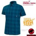 【瑞士 MAMMUT 長毛象】Trovat Trail 男新款 彈性透氣快乾短袖襯衫/1015-00071-50134 波賽頓