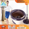【Boomjoy Official】BOOMJOY® M9 SPIN MOP ( Stock in Singapore)