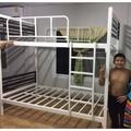 เตียงเหล็ก 2 ชั้น