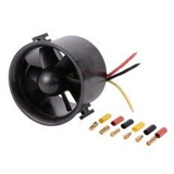 Powerfun EDF 50mm 11 Blades Ducted Fan with RC Brushless Motor 4300KV Balance Tested for EDF 4S RC Jet Airplane