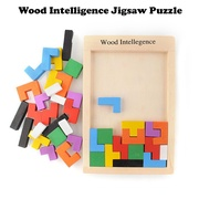 Wood Intelligence Jigsaw Puzzle / Good for 10 months and above [stuffwelove]