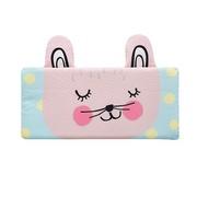 韓國 Bonitabebe - 枕套-三段式可調高兒童涼枕用-點點小兔 (59*29cm)