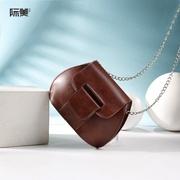 Women's Bag 2019 new small bag Japanese and Korean shell single shoulder crossbody bag female chain Bao Han edition