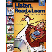 Listen, Read, and Learn with Classic Stories, Grade K