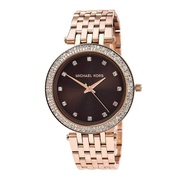 Michael Kors Rose Gold Darci Ladies Stainless Steel Watch MK3217