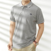 Big Size Collar T Shirt For Men Polo Plus Size Short Sleeve