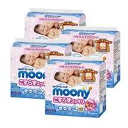 日本 moony - 加厚款超柔濕紙巾-日本境內製-60抽x3包x4袋