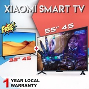 【BUY 1 GET 1 FREE】55 INCH 4S + 32 INCH 4S  XIAOMI SMART TV | Android TV | 1 year Local Warranty | English w Content