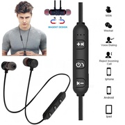Magnetic Wireless Earphones Bluetooth Twins Sports Stereo Headset Universal Earpiece Headphone With Microphone For Iphone Samsung Android