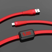 HOCO xiaomi S4 Charging Data Cable with Timing Display for Lightning