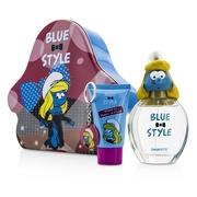 藍色小精靈 Smurfette女香組合:淡香水100ml/3.4oz + 沐浴凝膠 75ml/2.5oz +鑰匙圈  3件