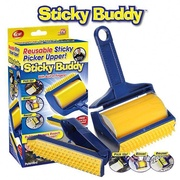 Sticky Buddy ชุดลูกกลิ้งทำความสะอาด กำจัดขนสัตว์ แปรงกำจัดขนแมว-สุนัข
