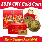 2020 Fortune Gold Coin Chinese New Year Fortune Gold Coin / Rat Year 🐀