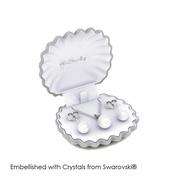 Mother of Pearl Set - Embellished with Crystals from Swarovski®