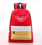 2019 New Backpack Fashion Canvas Letter Women Backpacks School Bags For Teenage Girls Female Quality Travel Backpack Bookbag