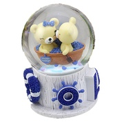 Music Box Snow Globe Classic Rotating Kid's Adults Kids Gift Unisex Gift