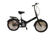 """20"""" Hi-Ten Steel Folding Bike - Black"""